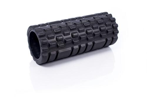 Massaažirull jooga jaoks Grid Roller 30x10cm, must