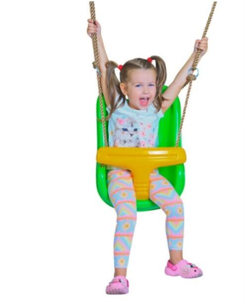 "Swing Just Fun ""For Babies"", length 180 cm, kollane roheline"