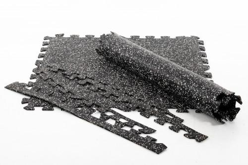 Резиновая плитка Пазл для спортзалов 100x100 см 1 шт