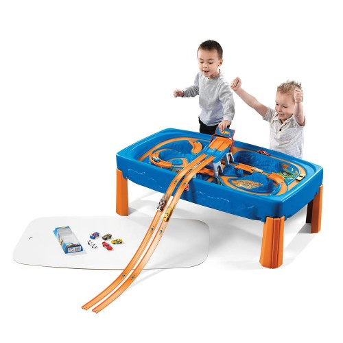 Step2 HOT WHEELS™ CAR & TRACK PLAY TABLE  (869600)