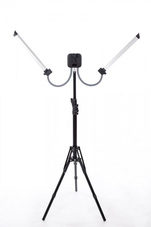 Kahekordne LED lamp pildistamiseks ja filmimiseks 2x20W (9602LED)