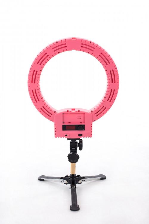 LED-rõngaslamp pildistamise ja filmimise jaoks Ø33 cm, 36W (9601LED-12)