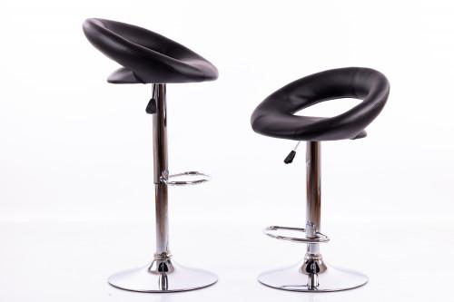 Bar chairs B02 black - 2 pcs.
