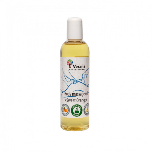 Body massage oil Verana Professional, Sweet orange 250ml