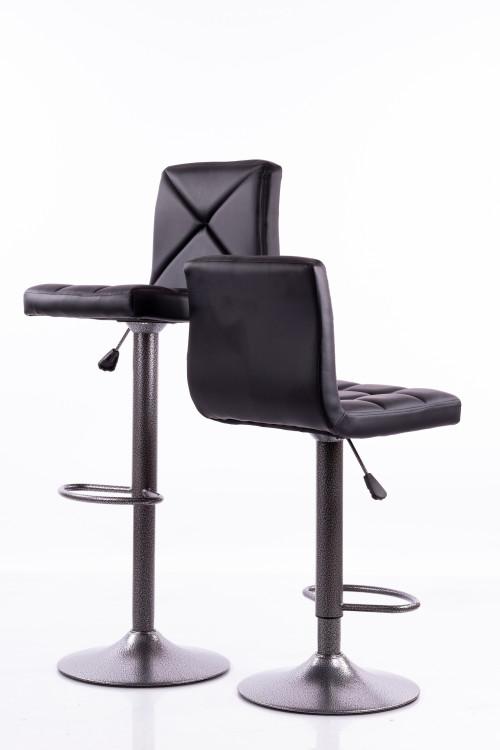 Черные барные стулья  B06-1 - 2 шт.
