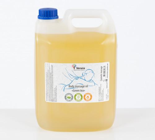 Body massage oil Verana Professional, Green tea 5 L