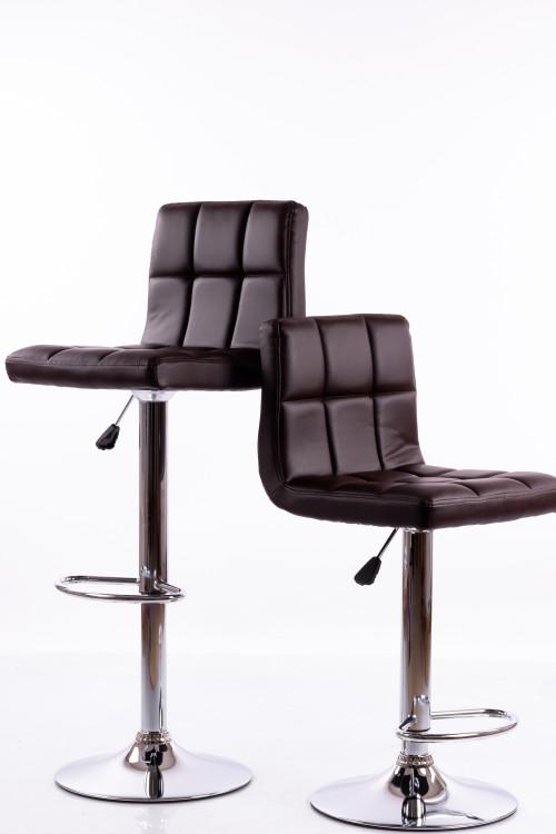 Коричневые барные стулья B06 - 2 шт.