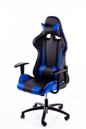 Gaming chair black-blue BM2016