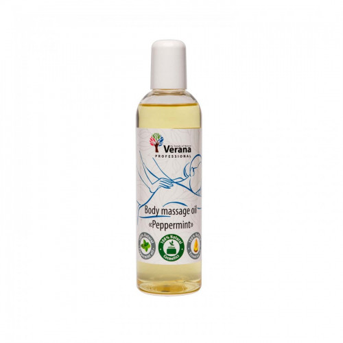 Body massage oil Verana Professional, Peppermint 250ml
