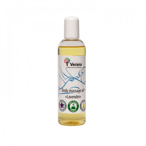 Body massage oil Verana Professional, Lavender 250ml