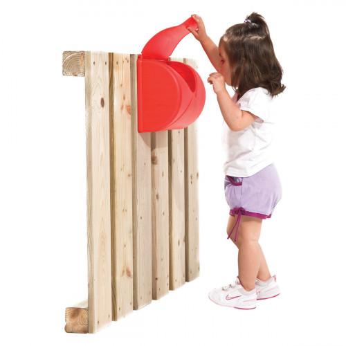 Laste postkast kinnitustega, KBT, 25x23x14 cm