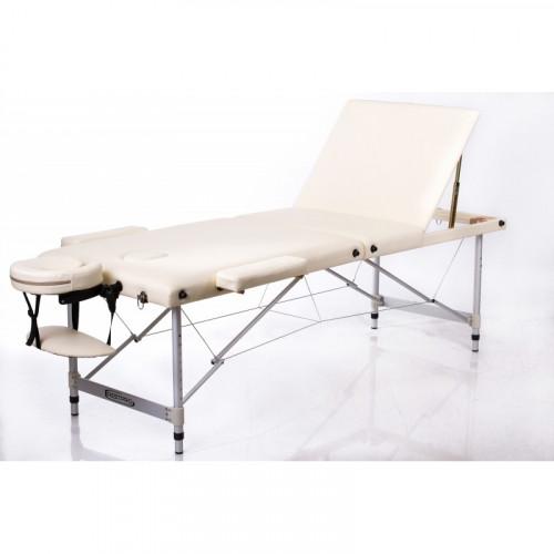 RESTPRO® ALU 2 M Cream Set massaažilaud + massaažirullid (komplekt)
