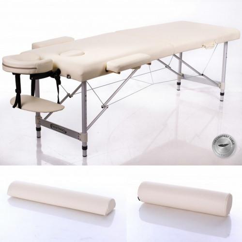 RESTPRO® ALU 3 Cream Set massaažilaud + massaažirullid (komplekt)