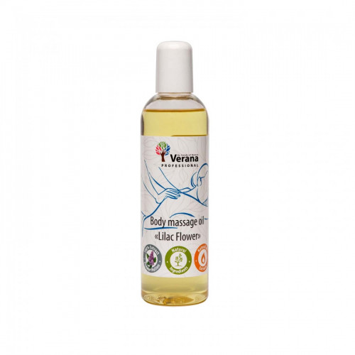 Body massage oil Verana Professional, Lilac flower 250ml