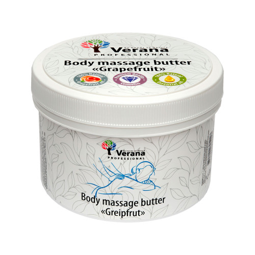 Body massage butter Verana Greipfrut 450 gr