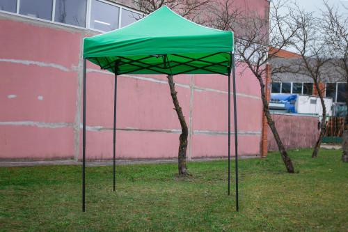 Pop Up kokkupandav telk 2x2 m, ilma seinteta, roheline, H-seeria, teras (telk, paviljon, varikatus)