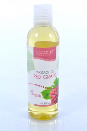 Masažo aliejus RED GRAPE Ceano Cosmetics 200ml
