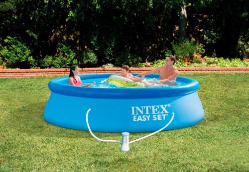 Täispuhutav bassein Intex Easy Set 305х76 cm, filterpumba (28122)