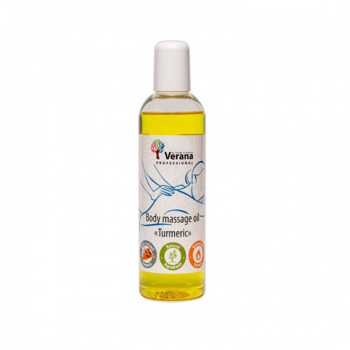 Body massage oil Verana Professional, Turmeric 250ml