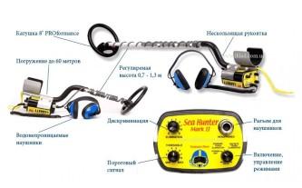 Metal detector Garrett Sea Hunter Mark II