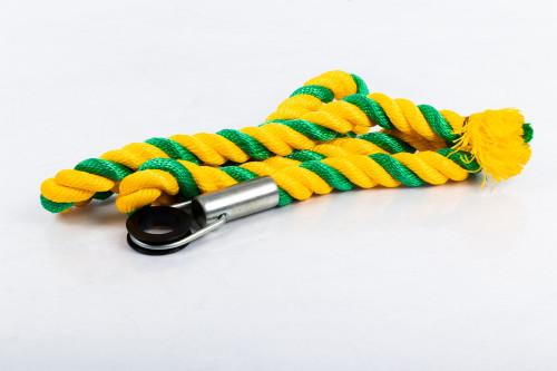 Rope for swedish walls Yellow-Green