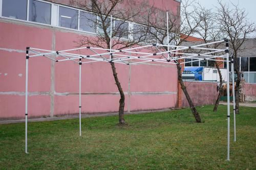 Kokkupandav tendi karkass 3 x 4.5 m, X-seeria (alumiinium, 40x40x1.0 mm)