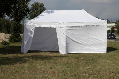 Pop Up mobiilne kokkupandav telk N-seeria 3x6 m tent seintega - alumiiniumkarkass 50x50x1.8 mm