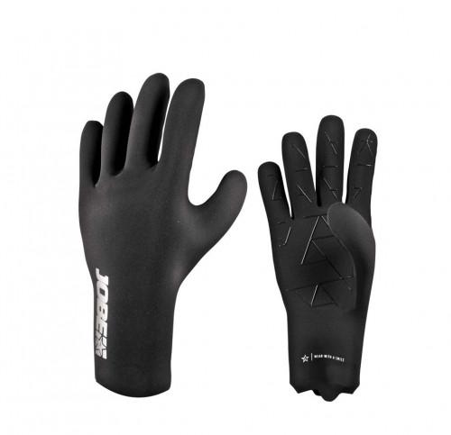 Neopreenist kindad Jobe Neoprene Gloves, mustad