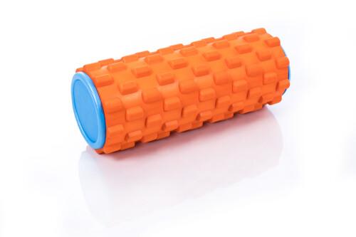 Massaažirull jooga jaoks Grid Roller 30x10cm, oranž