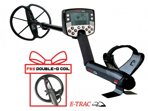 "Metal Detector Minelab E-Trac Universal + Minelab 8"" FBS coil"