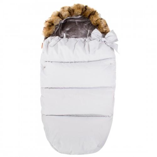 Laste magamiskott jalutuskäikude jaoks SB005 valge