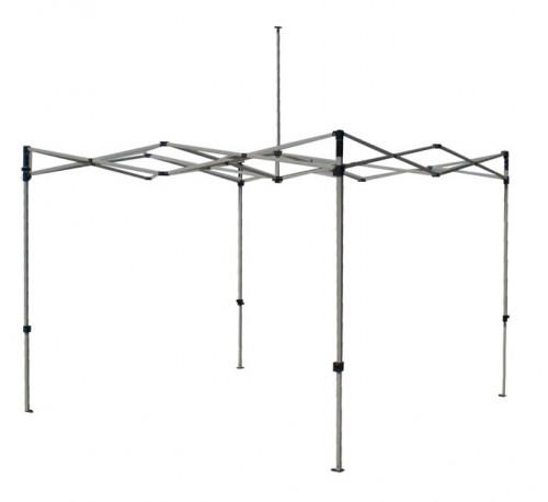 Kokkupandav tendi karkass 3 x 3 m (alumiinium, 40x40x1.0 mm)