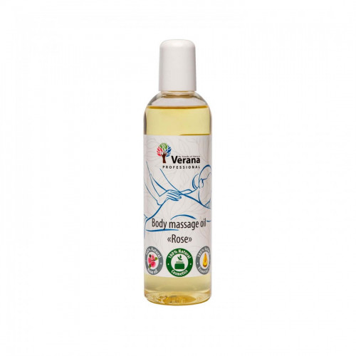 Body massage oil Verana Professional, Rose 250ml