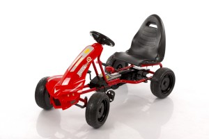 Velokart (Velomobile) Go-Kart A-18 Red (5-12 years)