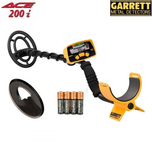 Metallidetektor Garrett ACE 200i + GIFTS