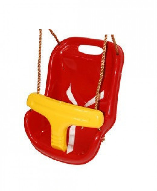 "Swing Just Fun ""For Babies"", length 180 cm, red with yellow"