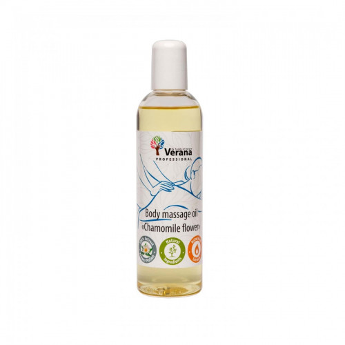 Body massage oil Verana Professional, Chamomile flower 250ml