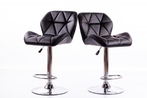 Bar chairs B01 black 2 pcs.