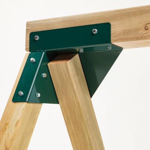 Universaalne kinnitus ristkülikuliste puitkonstruktsioonide jaoks