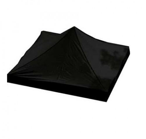 Tendi katus 2 x 2 m (must värv, kanga tihedus 160 g/m2)