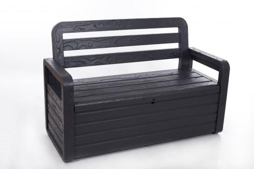 Садовая скамья с ящиком для хранения 132х58х89, Тoomax (Италия)
