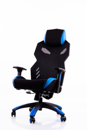 Gaming chair black-blue BM3030