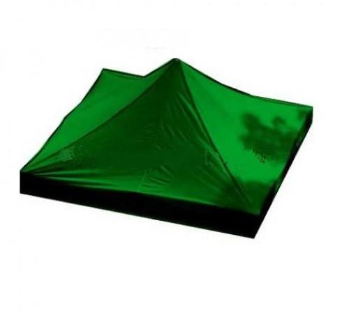 Tendi katus 2.92 x 2.92 m (roheline värv, kanga tihedus 160 g/m2)