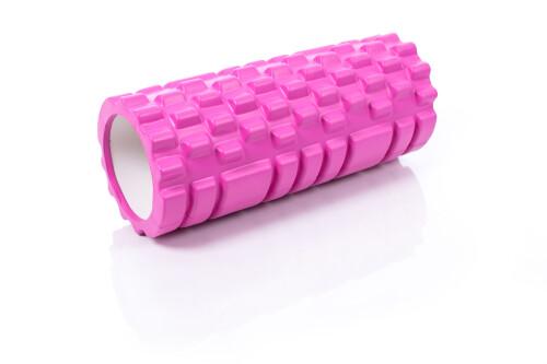 Massaažirull jooga jaoks Grid Roller 30x10cm, roosa