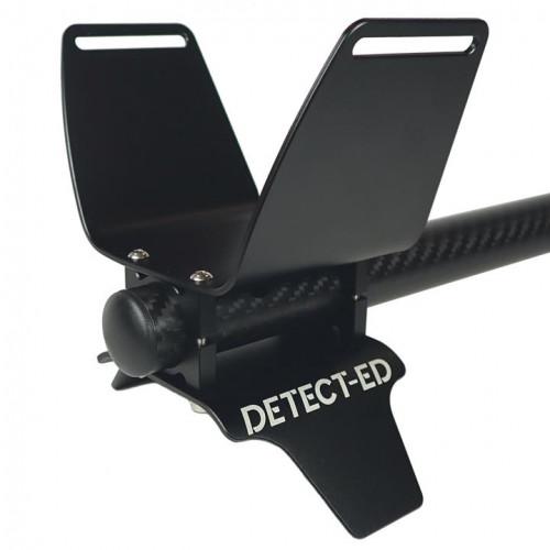 Küünarnuki tugi Equinox Alloy Armrest kit, 22mm, must