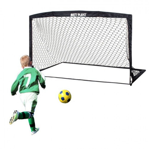 Ворота для футбола с сеткой, 360х180х100 см