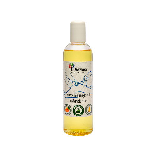 Body massage oil Verana Professional, Mandarin 250ml