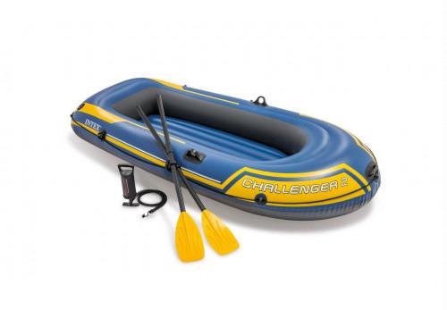 Täispuhutav paat Intex Challenger 2 Boat Set (236x114x41)