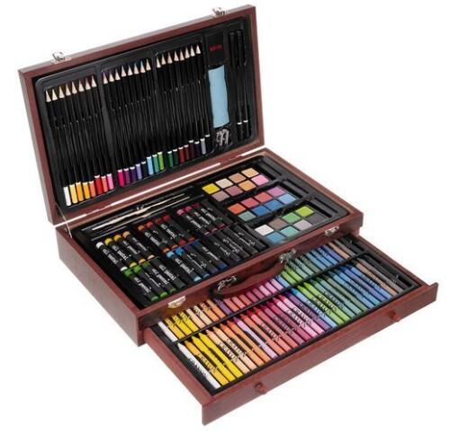Drawing and painting set, 143 pcs.