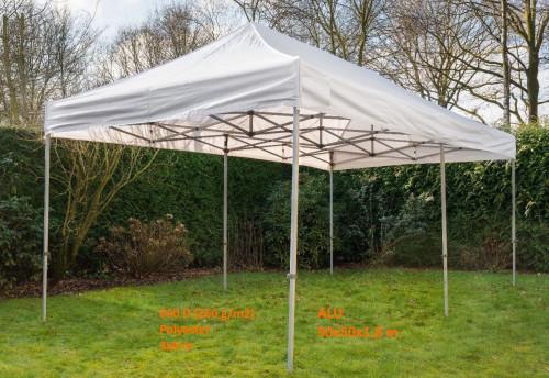 Pop Up mobiilne kokkupandav telk N-seeria tent 3x6 m - alumiiniumkarkass